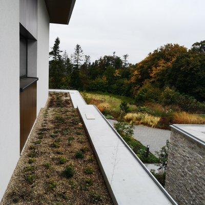 Realizace střešní zahrady Češkovice