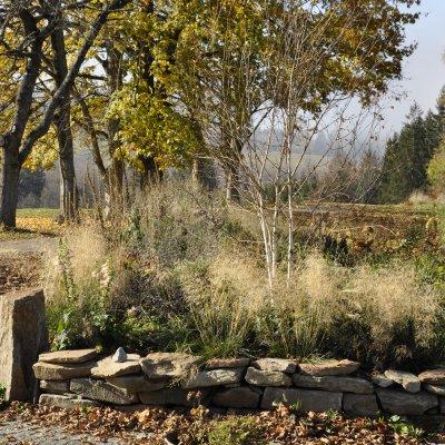 Zahrada Penzion Stará vápenka - Listopad 2020